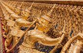 image of garuda  - Garuda In Wat Phra Kaew - JPG