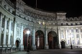 stock photo of edwardian  - Admiralty Arch at night  - JPG