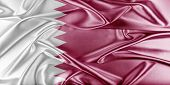 Постер, плакат: Qatar Flag