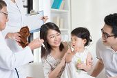 stock photo of scared baby  - Child vaccination - JPG