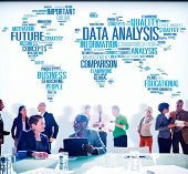 picture of comparison  - Data Analysis Analytics Comparison Information Networking Concept - JPG