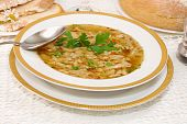 Polish Tripe Soup (flaki)