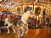 Western Carousel Horse