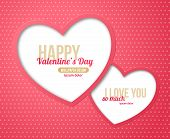 ������, ������: Happy Valentines Day Greeting Card