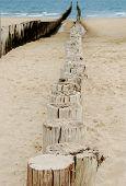 Wooden Sea Breakers