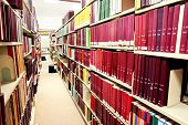 Row Of Red Books