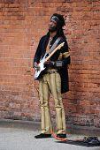 Jimi Hendrix Impersonator