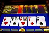 picture of poker machine  - poker game on slot machine las vegas - JPG