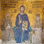 Mosaic In Aya Sofya