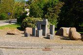 Old Monument In Sandomierz, Poland