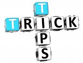 3D Trick Tips Crossword