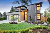 Luxurious New Construction Home In Bellevue, Wa poster