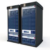 3D Server Rack Units