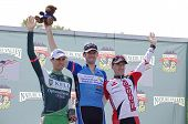 Men's Stillwater Criterium Top Three Finishers