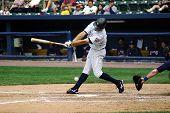 Scranton Wilkes Barre Yankees batter No. 12 Cody Ransom