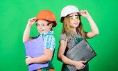 Home Improvement Activities. Builder Engineer Architect. Future Profession. Kids Girls Planning Reno poster