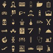Occupation Icons Set. Simple Style Of 36 Occupation Icons For Web For Any Design poster