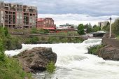 Spokane River In May
