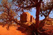Framed Landscape Image Of Monument Valler Arizona poster