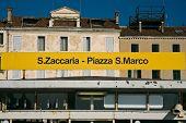 San Zaccaria - San Marco Waterbus Stop In Venice