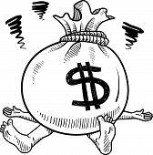 Money problems sketch