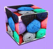 Woolly Cube