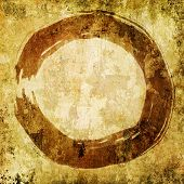 Hand Painted Zen Circle - Enso