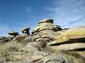 Stone boulders (Uvs Nuur Basin Tuva)