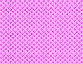 Постер, плакат: Розовый лапы
