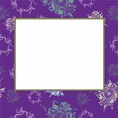 Vector Lilac Frame