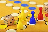 The ancient board game of Ludo (Take it Easy) is truly international. It has its original and specif