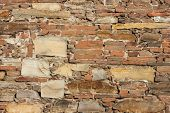 Ancient Church Wall Background