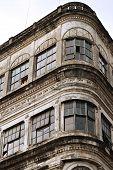 Abandoned Art Deco Building