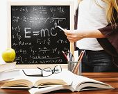 In The Study Of Physics At School Children Study The Theory Of Relativity poster