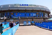 Rod Laver arena  at Australian tennis center