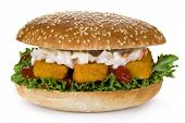 Fish Fingers Burger