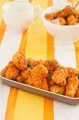 spicy chicken nuggets poster