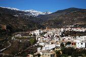 White village, Cadiar, Las Alpujarras, Spain.