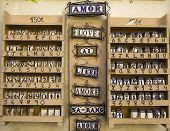 Keramik mit der Liebe Worte