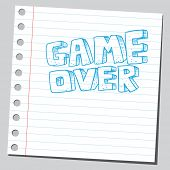 picture of game_over  - Game over - JPG