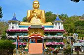 Golden Temple of Dambulla (Dambulla Cave Temple) in Sri Lanka