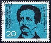 Postage Stamp Germany 1964 Ferdinand Lasalle