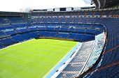 Estádio Santiago Bernabeu, do Real Madrid