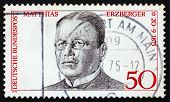 Postage Stamp Germany 1975 Matthias Erzberger