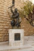 King David Monument. Jerusalem. Israel