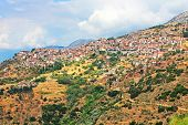 Famous Resort Town Of Arachova, Boeotia, Greece