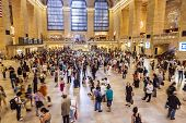 Rush Hour In Grand Central Station