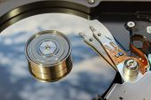 Hard disk operating