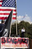 WASHINGTON-SEPT 11: Rep. Louie Gohmert (R-TX) speaks at the 911 Justice for Benghazi rally at the US