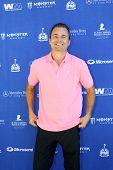 MOOREPARK, CA - SEPT 16:  Matt Borlenghi arrives at the 6th Annual Scott Medlock & Robby Krieger Golf Invitational & All-Star Concert on September 16, 2013 in Moorepark CA.